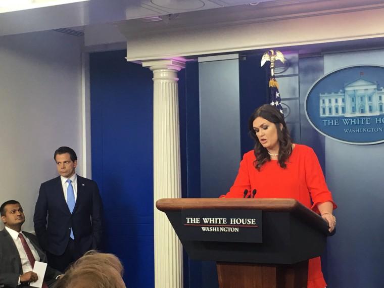 Новым пресс-секретарем Белого дома станет Сара Сандерс