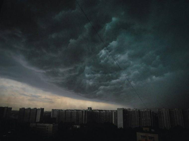 Урал вожидании сильных ливней