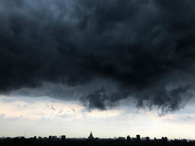 ВМоскве опять объявили желтый уровень опасности