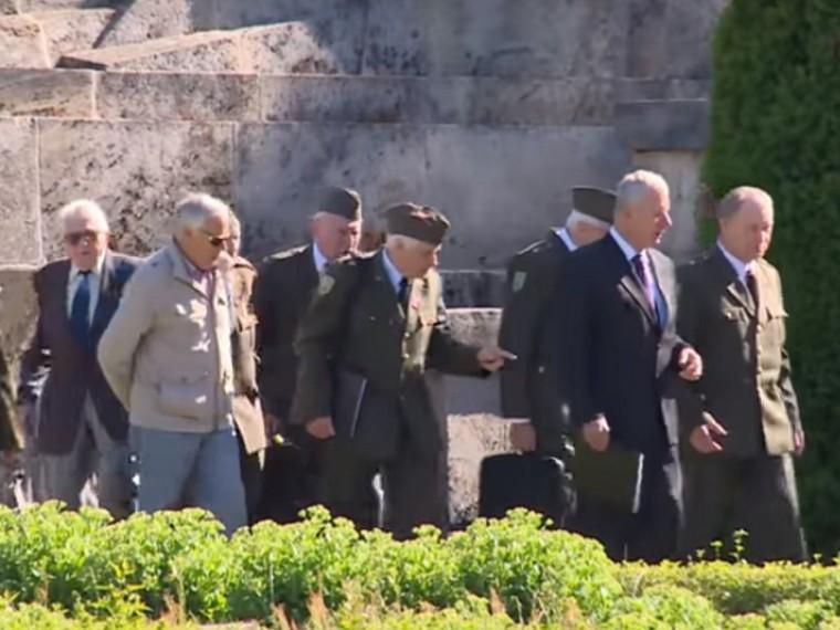 ВЛатвии отметили 139 лет содня рождения одного излидеров СС— Рудольфа Бангерского