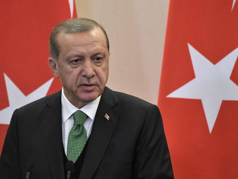 Эрдоган непонимает тревогуСША поповоду покупки Турцией уРоссии С-400