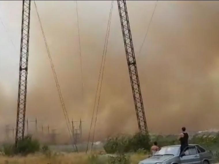 Апокалипсис отменяется. Пожар вВолгоградской области ликвидирован