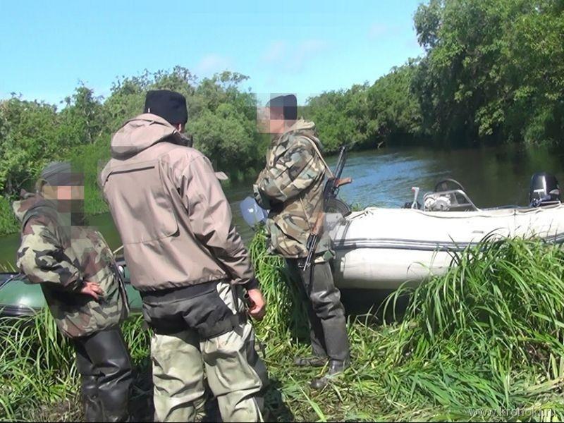 ставим сети на реке без лодки