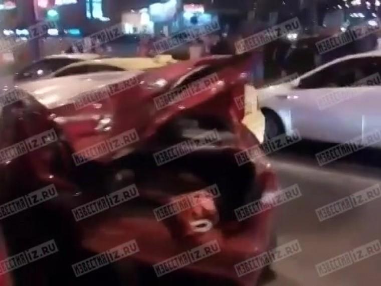 Пъяный водитель устроил массовое ДТП насевере Москвы