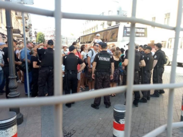 ВОдессе сегодняпланировали сразу два гей-парада— состоялся лишь один