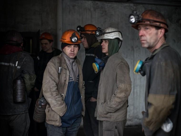 НаУкраине бастуют шахтёры урановых рудников