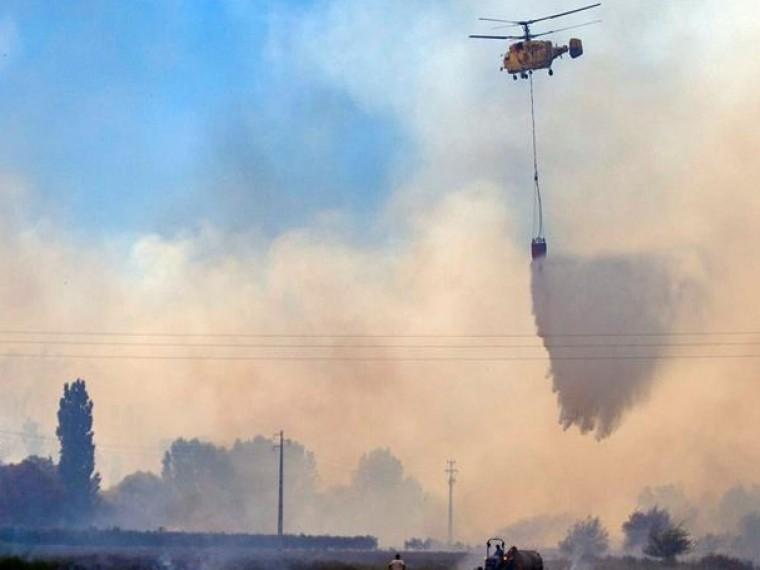 Пожарный вертолет разбился вПортугалии