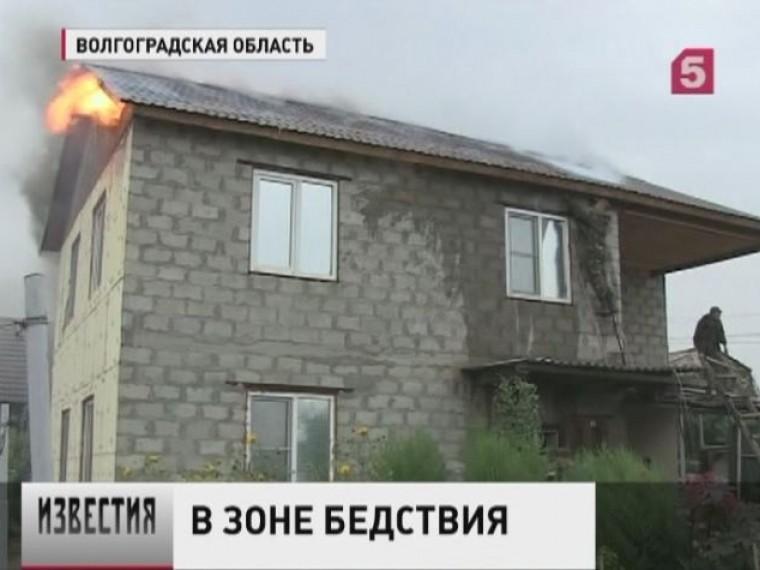 ВВолгоградской области из-за сильных степных пожаров готовятся кэвакуации пять тысяч человек