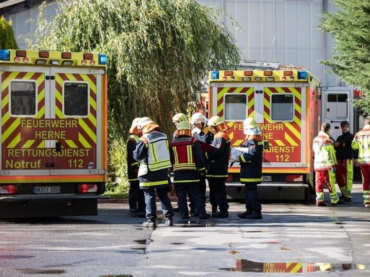 Взрыв вГермании. Семь человек пострадали