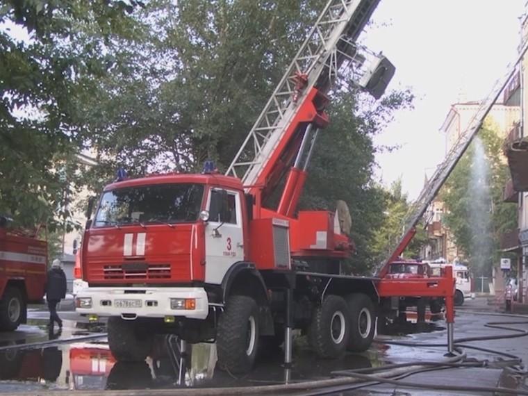 ВУлан-Удэ удалось спасти изпожара жильцов4-этажки