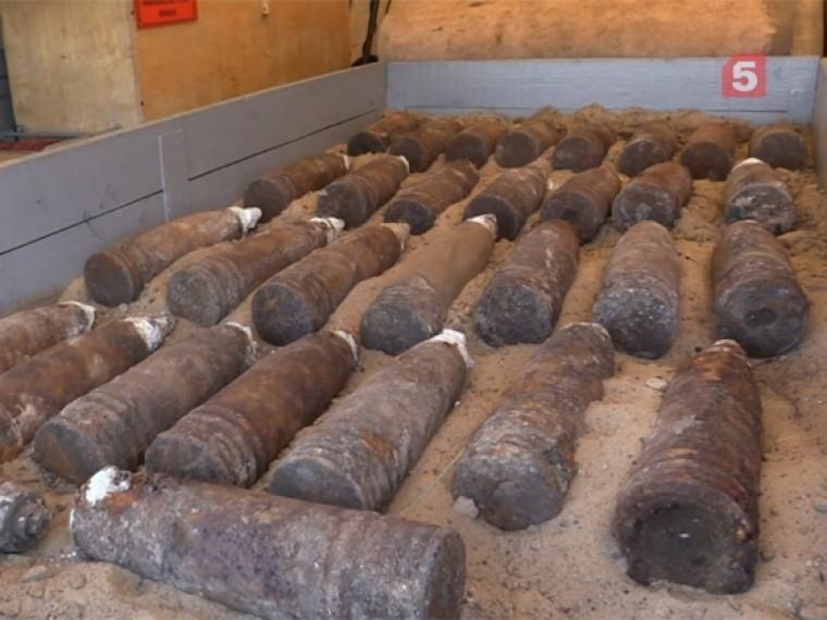 Саперы предотвратили взрыв более 200 немецких бомб вКурской области
