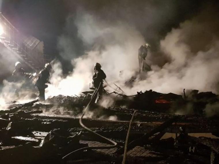 ВОдессе проходят обыски после пожара влагере «Виктория»