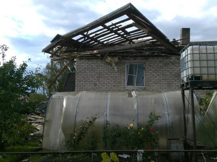 небывалый ураган оставил крыш проводов поселок поддорье новгородской