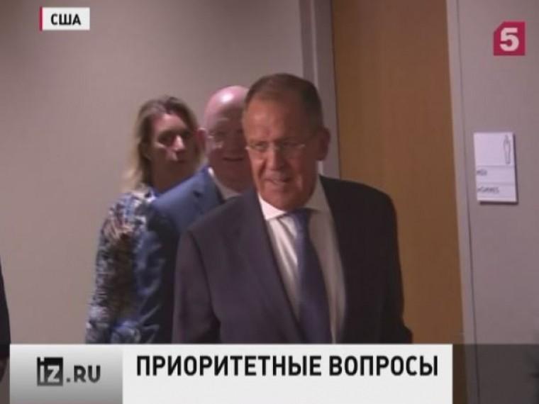 Сергей Лавров выступит стрибуны 72-й сессии Генассамблеи ООН