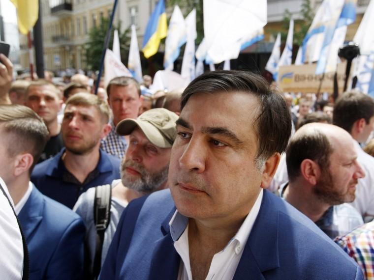 Саакашвили отделался смешным штрафом занезаконное пересечение границы Украины