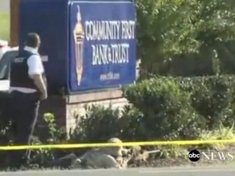 ВСША мужчина захватил заложников водном избанков вштате Теннесси