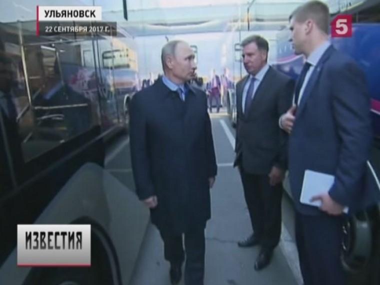 Владимир Путин раскритиковал работу общественного транспорта врегионах