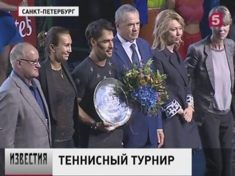 Главный трофейSt. Petersburg Open-2017 в12-йраз подряд достается гостям турнира