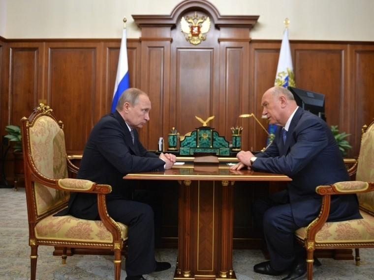 Стало известно оновой должности отправленного Владимиром Путиным вотставку экс-губернатора Самарской области