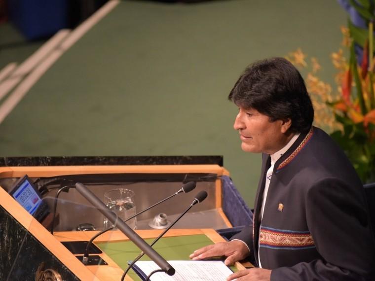 Президент Боливии назвал Трампа самой страшнойугрозой для планетыЗемля