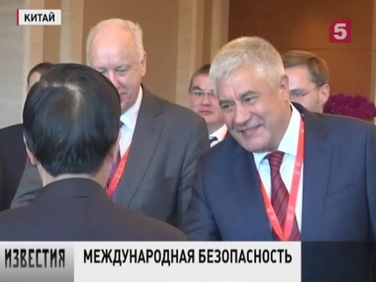 ВКитай софициальным визитом прибыл министр внутренних дел России