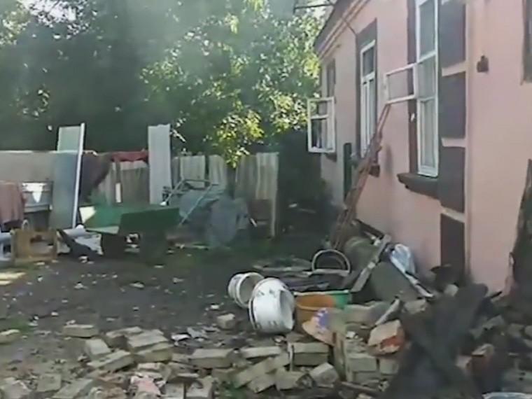 опубликовано видео страшных последствий взрывов складе боеприпасов винницей