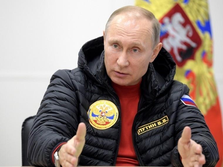 Куртка Путина