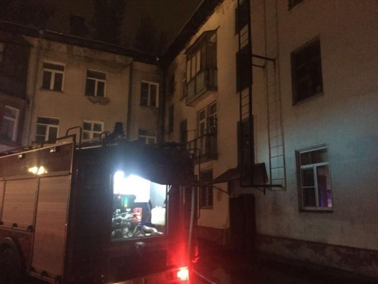 Пятый канал публикует фотоспожара вКоролеве