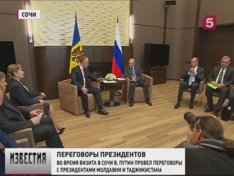 Владимир Путин всочинской резиденции Бочаров Ручей провёл ряд важных встреч