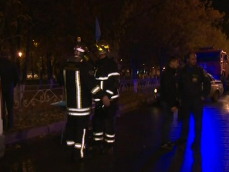 Открытое горение вторговом центре вподмосковном Чехове ликвидировано