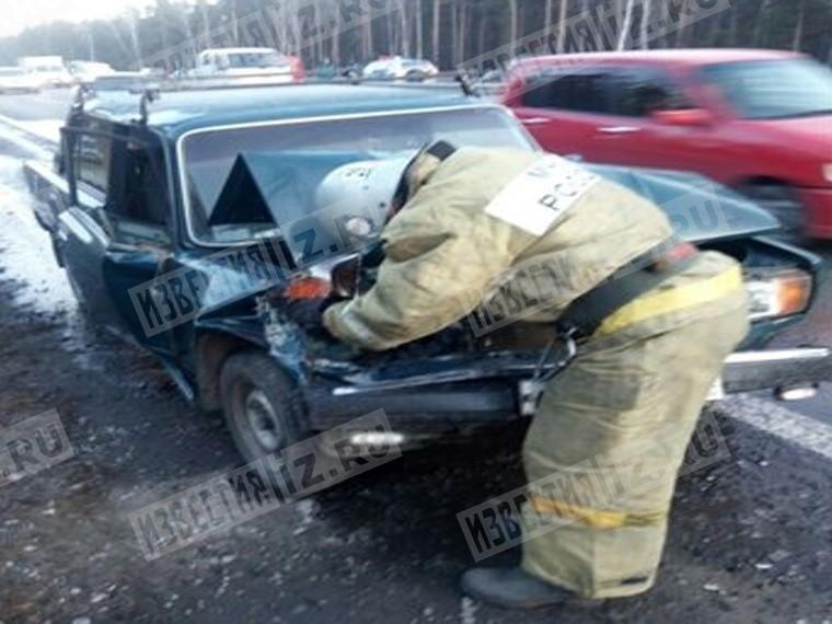 ВАлтайском крае вкрупном ДТП умер человек