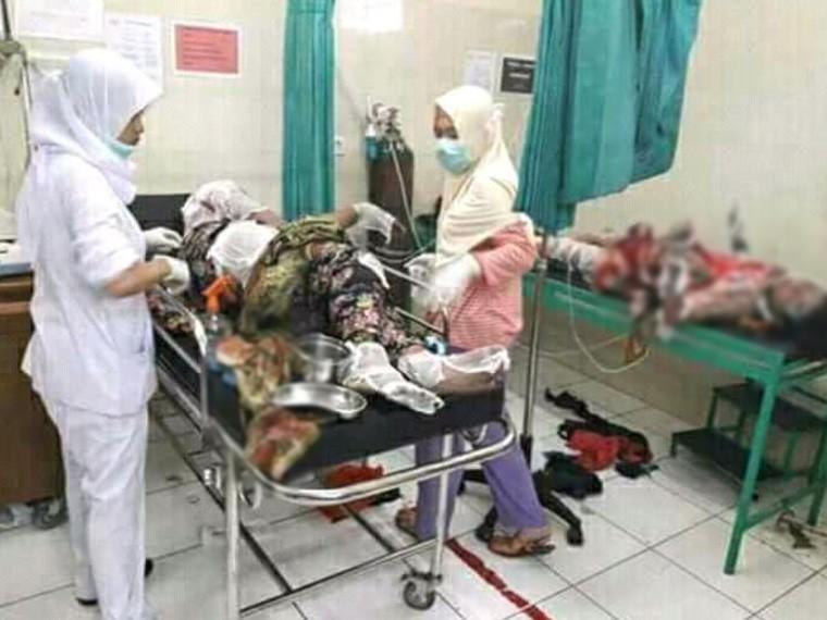 Нафабрике фейерверков вДжакарте живьем сгорели 47 человек