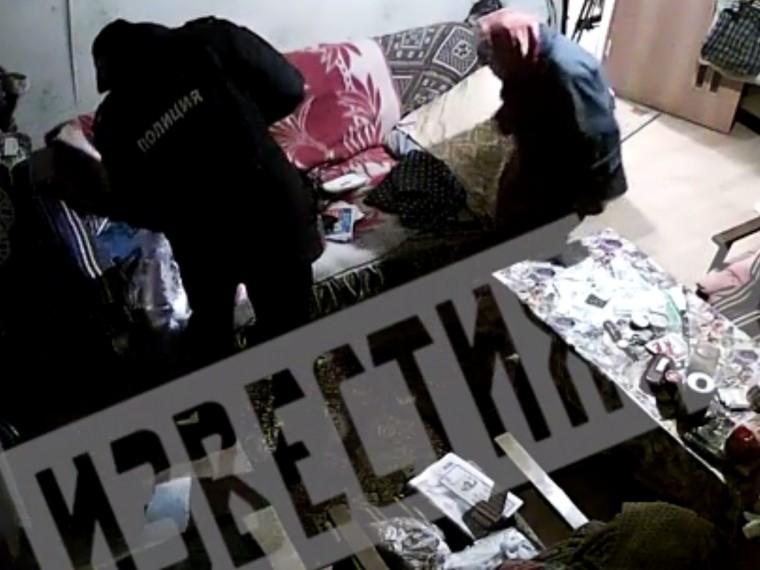 «Однаживешь?»: полная видеоверсия кражи полицейским денег устоличной пенсионерки