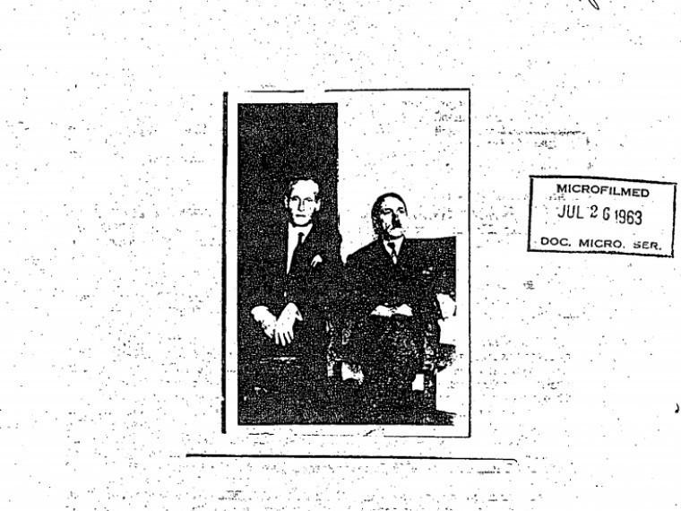 Рассекреченная фотография изархивов ЦРУ доказывает, что Гитлер пережил Вторую Мировую
