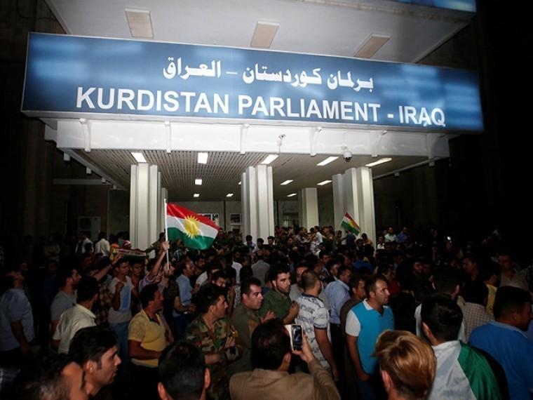 ВЭрбиле полиция предотвратила штурм здания парламента Иракского Курдистана