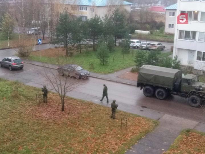 ВЛенобласти милиция недала отрезать оттепла офицерское общежитие