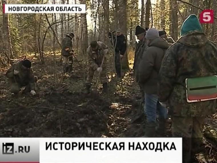 Вболотах Новгородской области обнаружен сбитый Ил-2 времён Великой Отечественной