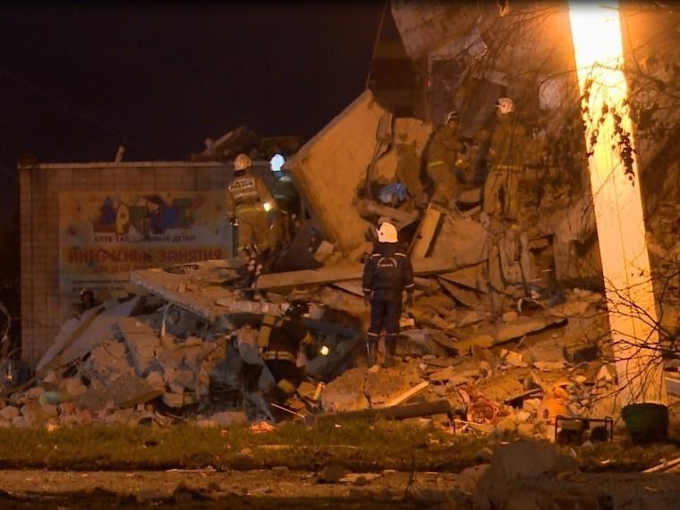 Аварийно-спасательные работы наместе частичного обрушения дома вИжевске завершены