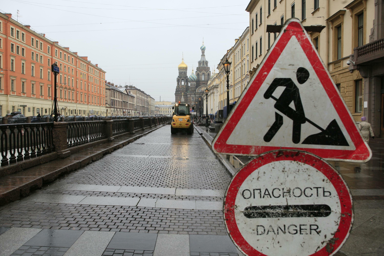 ВПетербурге спонедельника перекроют еще несколько улиц