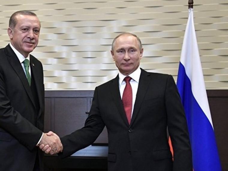 Путин иЭрдоган начали переговоры вСочи