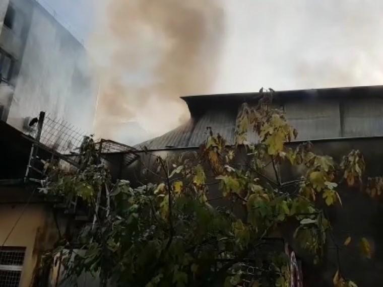 Пожар вобщежитии вцентре Сочи полностью потушен