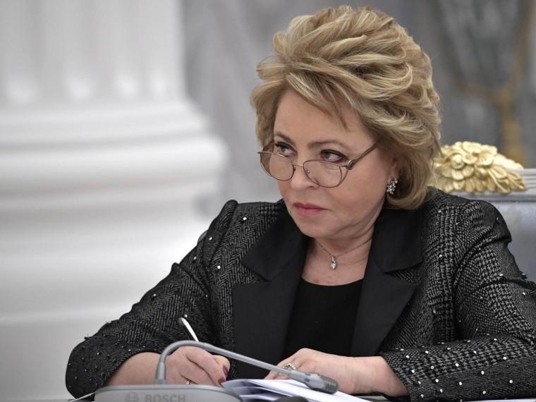 Матвиенко рассказала освободе слова идеятельности СМИ вРоссии