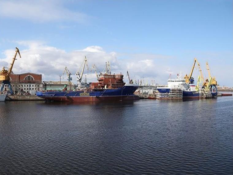 северная верфь заключила контракты строительство шести траулеров миллиард