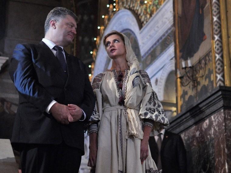 Супругу Петра Порошенко обвиняют вкраже денег изфондов для нуждающихся детей