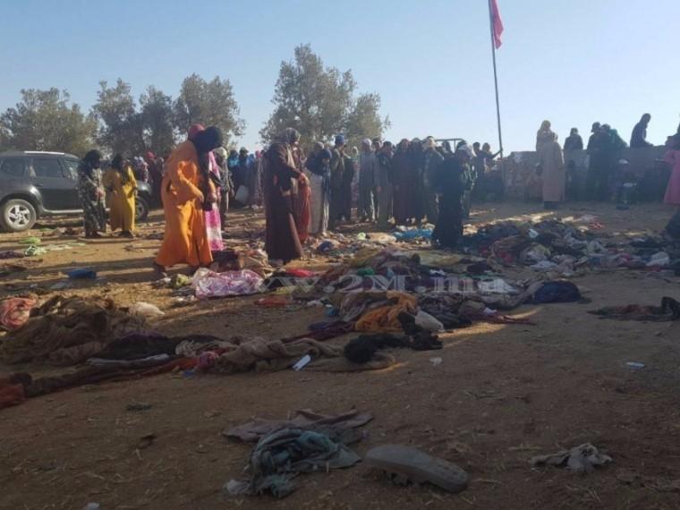 Вовремя давки прираздаче гумпомощи вМарокко погибли15 женщин