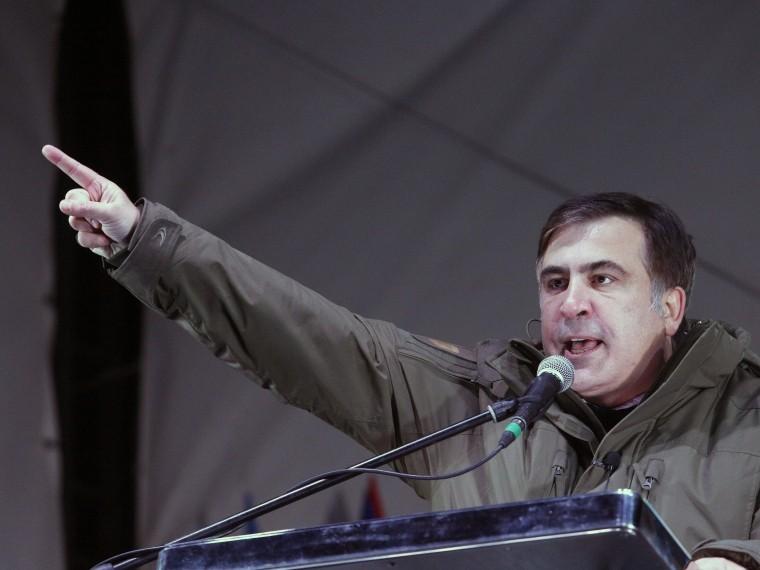 Саакашвили организует наУкраине «народный импичмент»