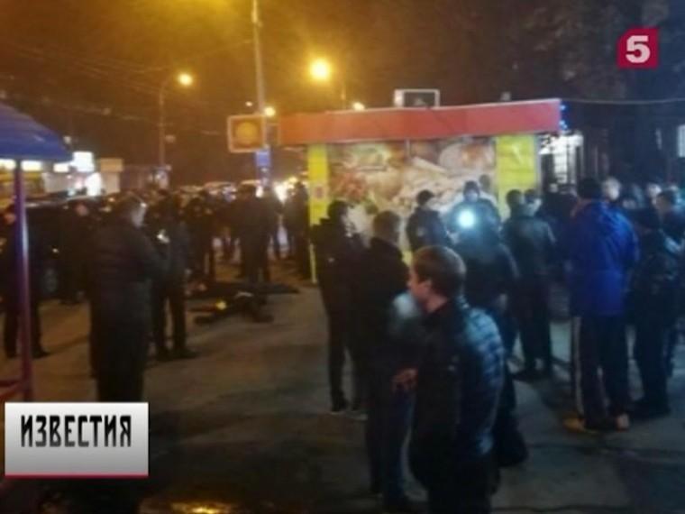 ВКиеве масштабные беспорядки завершились задержанием 30 человек