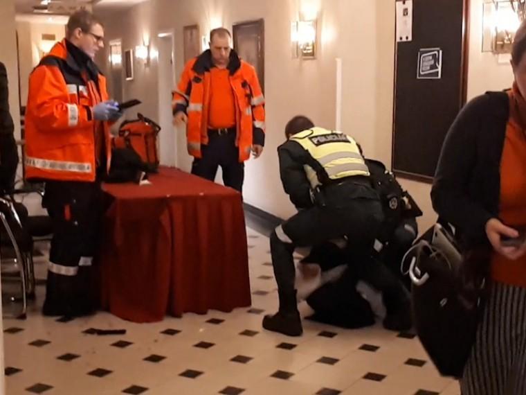 Драка нафоруме Свободной России вЛатвии попала навидео