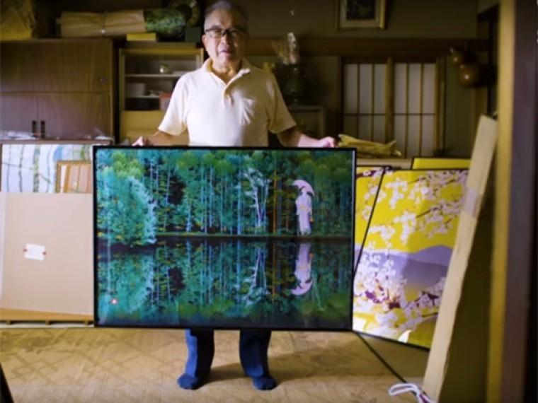скуповатый японский пенсионер создает шедевры excel