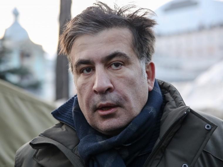 СМИ: Саакашвили пытался дважды прорваться вгостиницу «Киев»